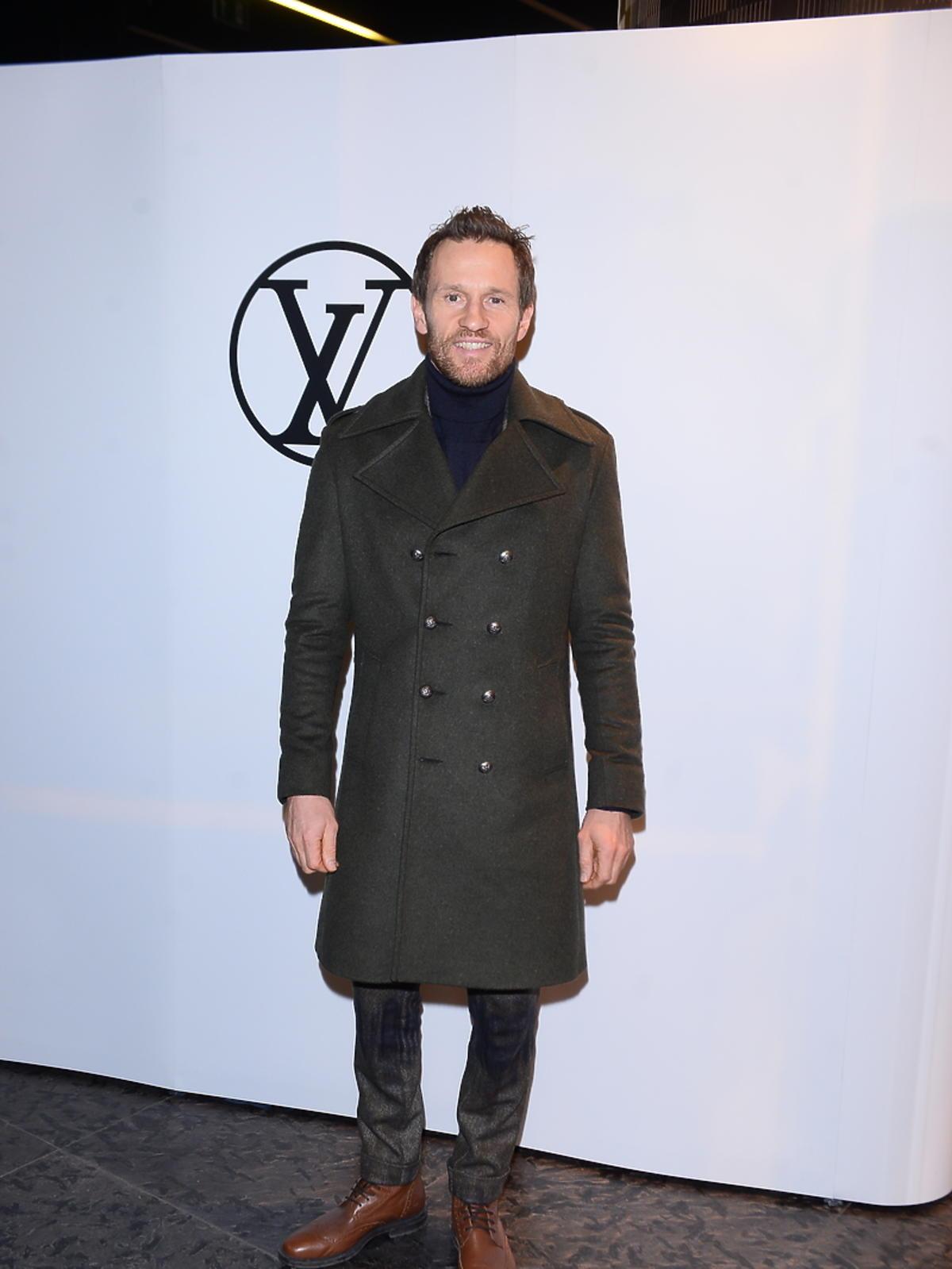 Mariusz Czerkawski na imprezie Louis Vuitton