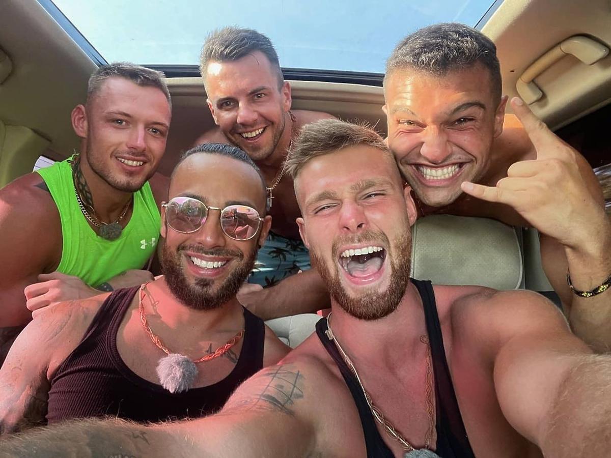 Mariusz, Krystian, Marcin, Krzysztof, Simon