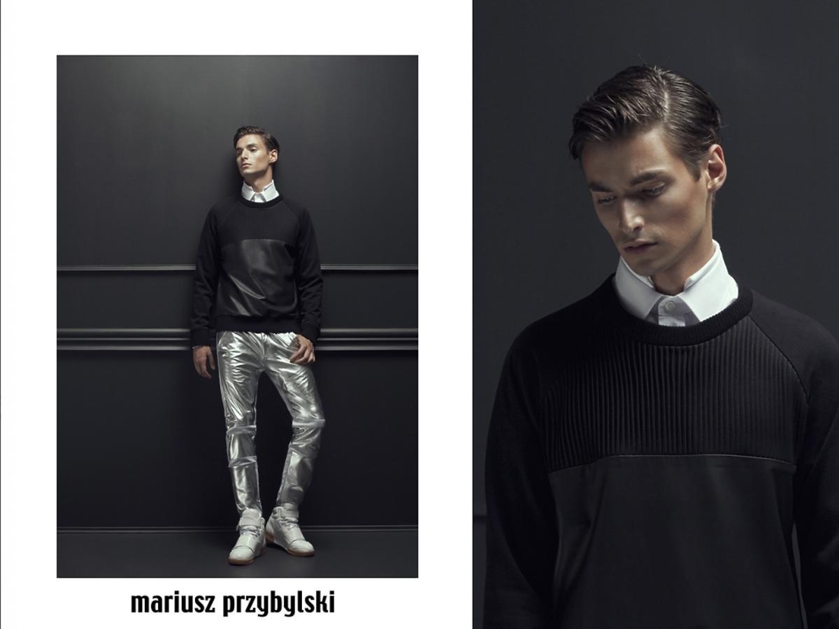Mariusz Przybylski - męska moda jesień 2013