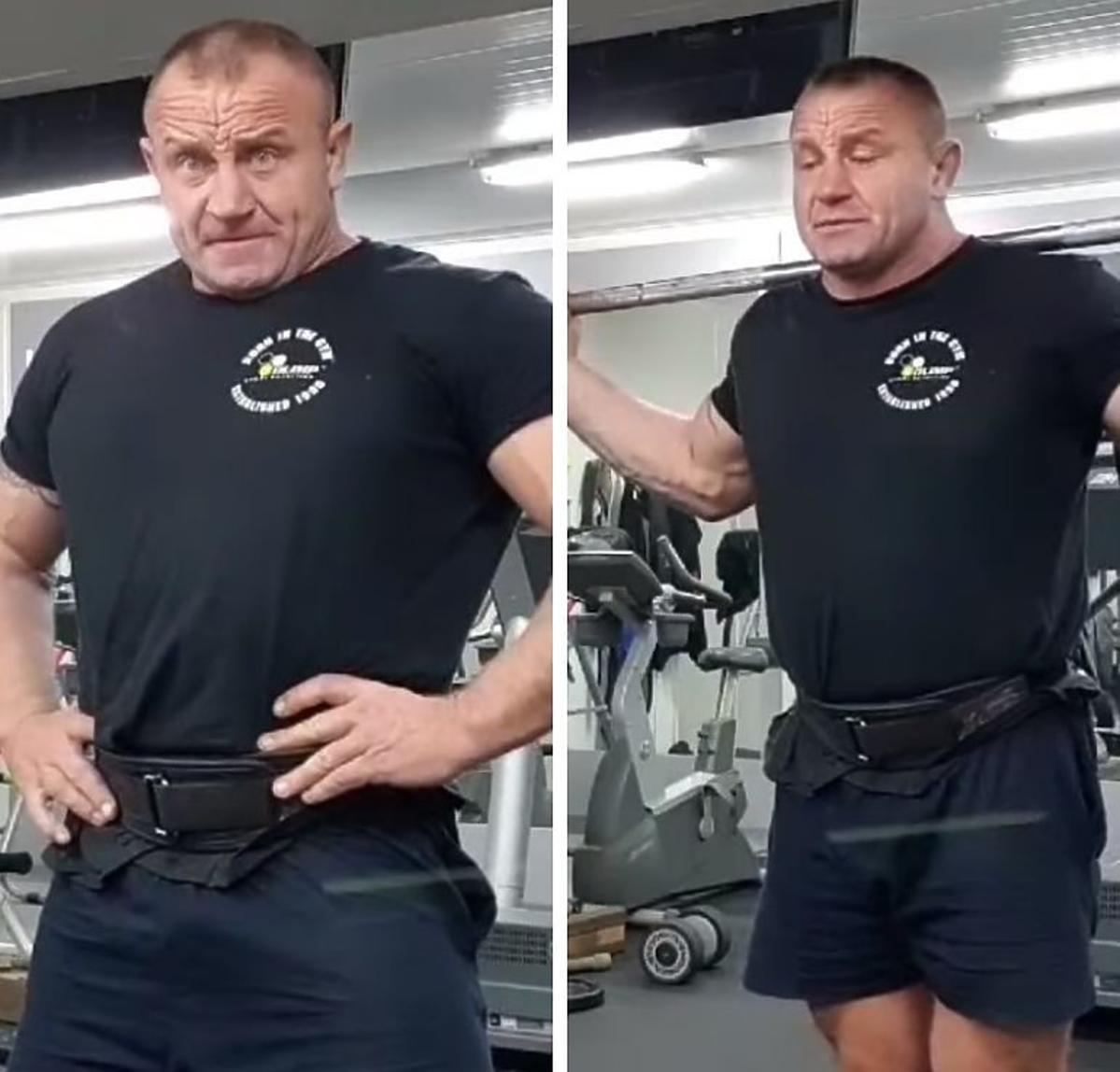 Mariusz Pudzianowski schudł
