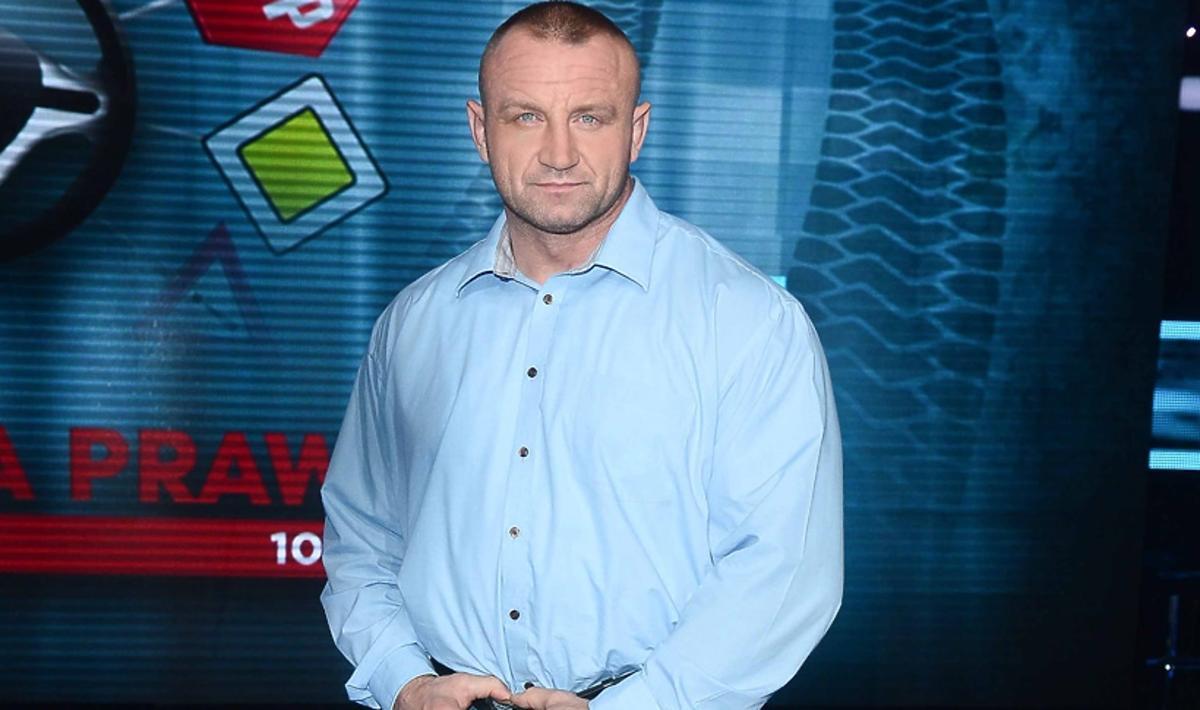 Mariusz Pudzianowski skomentował aferę ze swoim udziałem