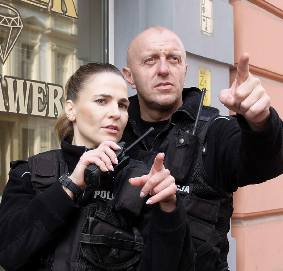 Mariusz Węgłowski w Policjantki i policjanci