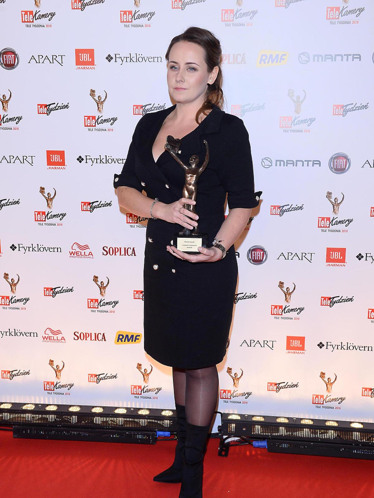 Marlena Szpak odebrała nagrodę za Michała Szpaka