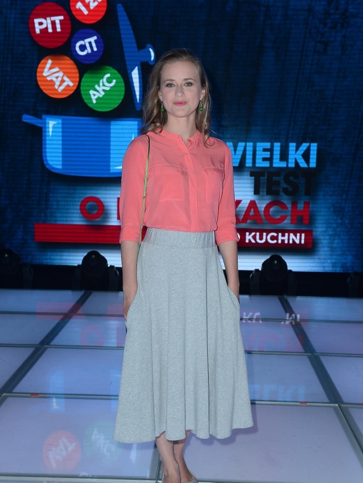 Marta Chodorowska na Wielkim Teście TVP