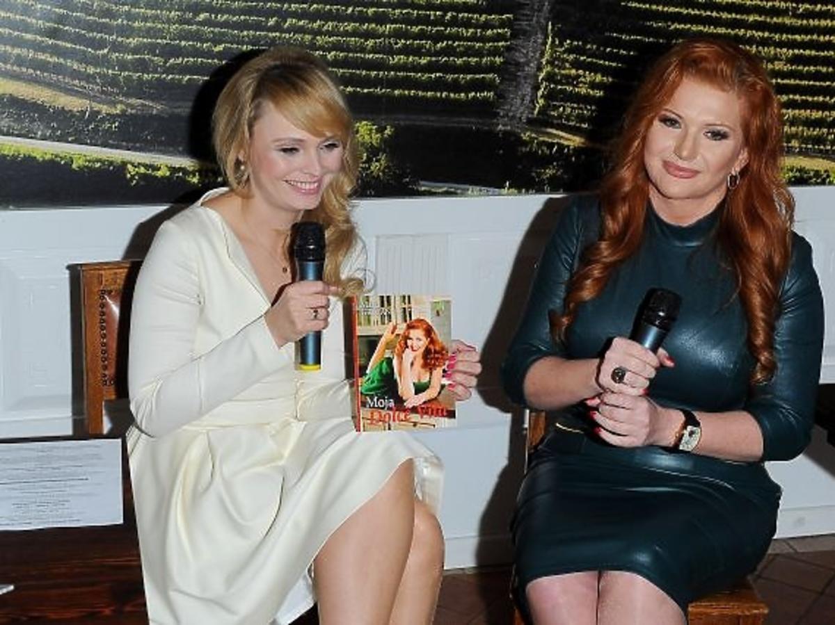 Marta Grycan i Agnieszka Jastrzębska promują książkę Moja Dolce Vita