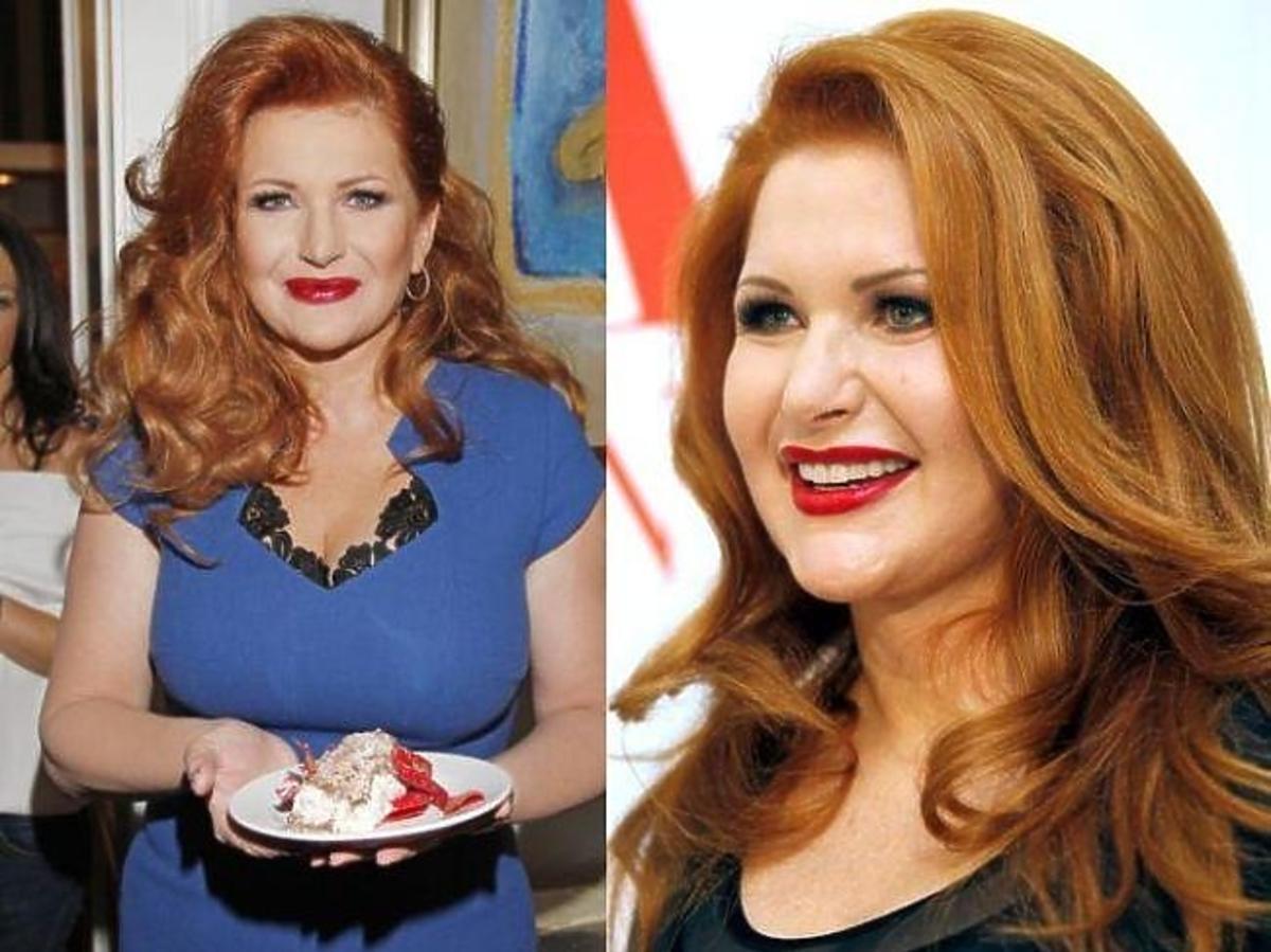 Marta Grycan je na śniadania ciastka i torty