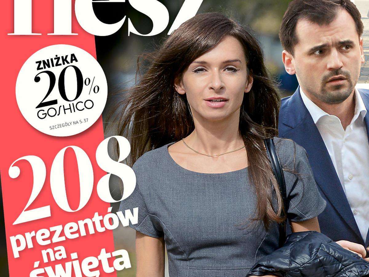 """Marta Kaczyńska i Marcin Dubieniecki na okładce """"Flesza"""""""