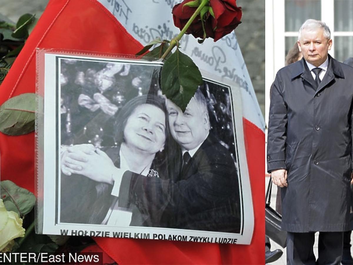 Marta Kaczyńska, Jarosław Kaczyński zrozpaczeni po tragedii w Smoleńsku
