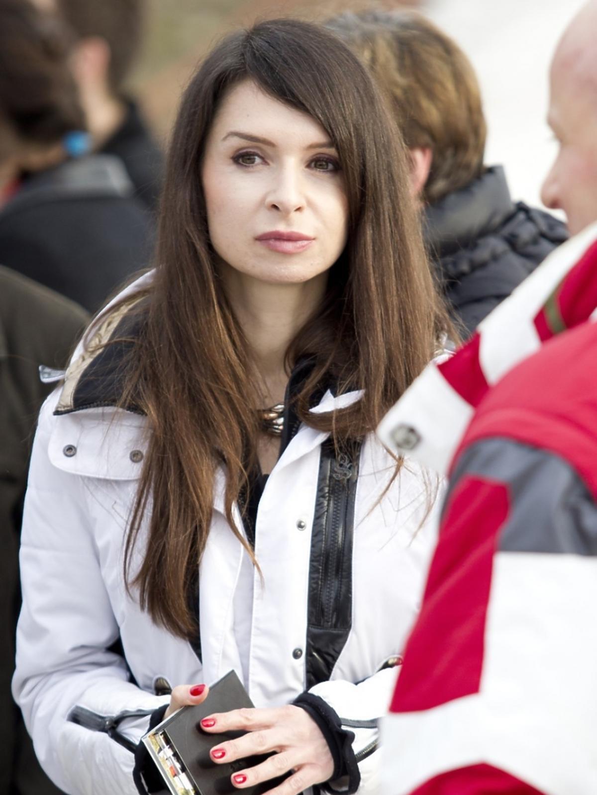 Marta Kaczyńska podczas memoriału upamiętniającego Marię Kaczyńską