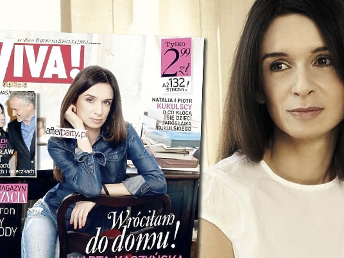 Marta Kaczyńska - sesja i wywiad w Vivie