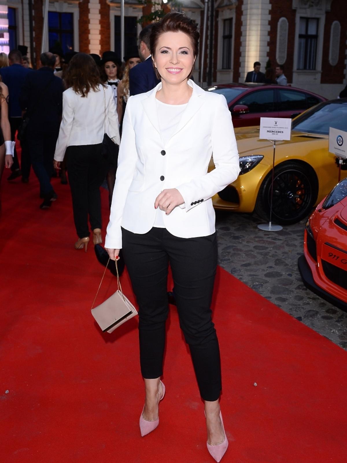 Marta Kielczyk na imprezie Samochód Roku Playboya