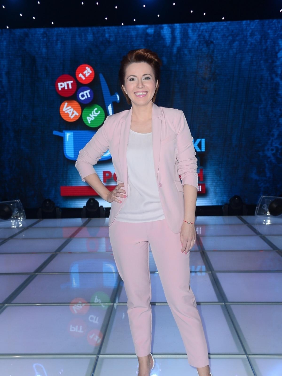 Marta Kielczyk na Wielkim Teście TVP