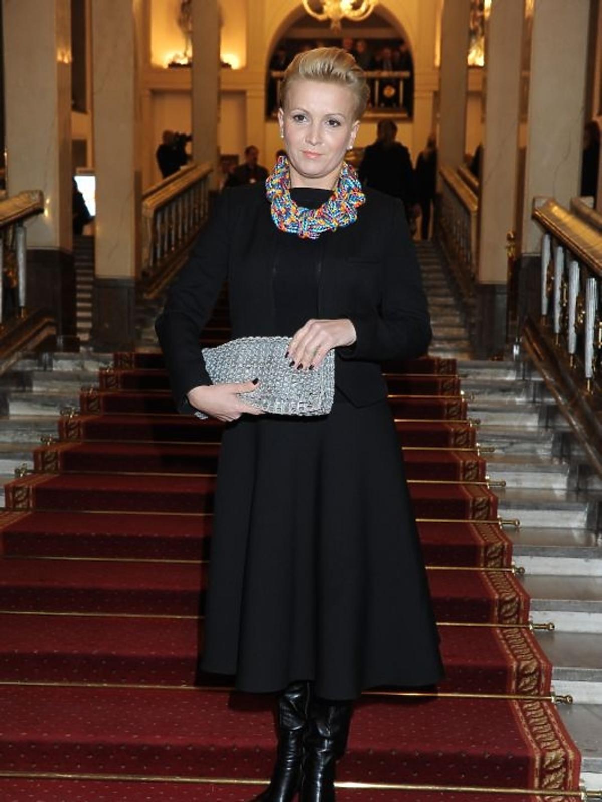 Marta Kuligowska na gali Paszporty Polityki 2012