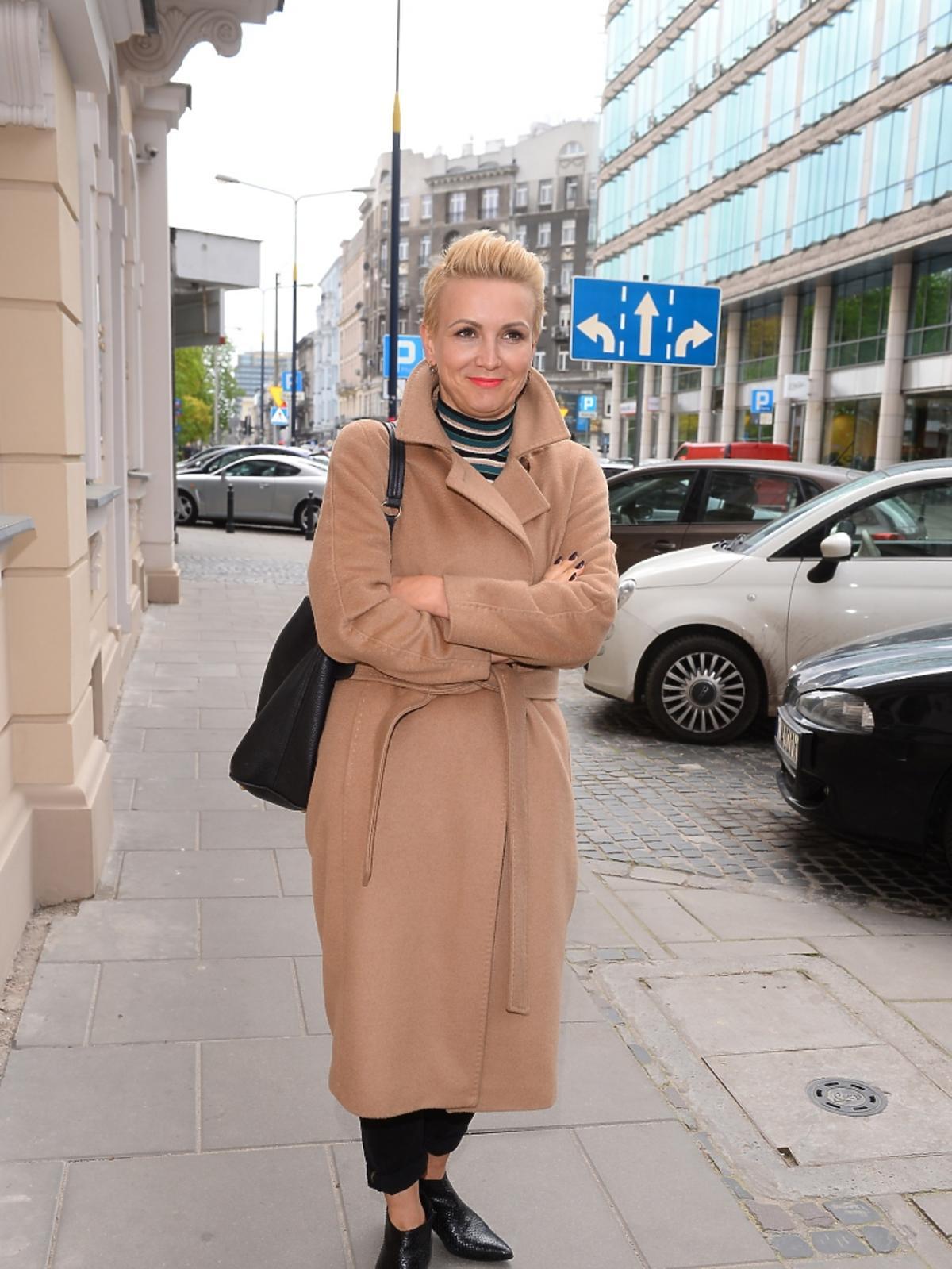 Marta Kuligowska na otwarciu butiku marki 303 Avenue