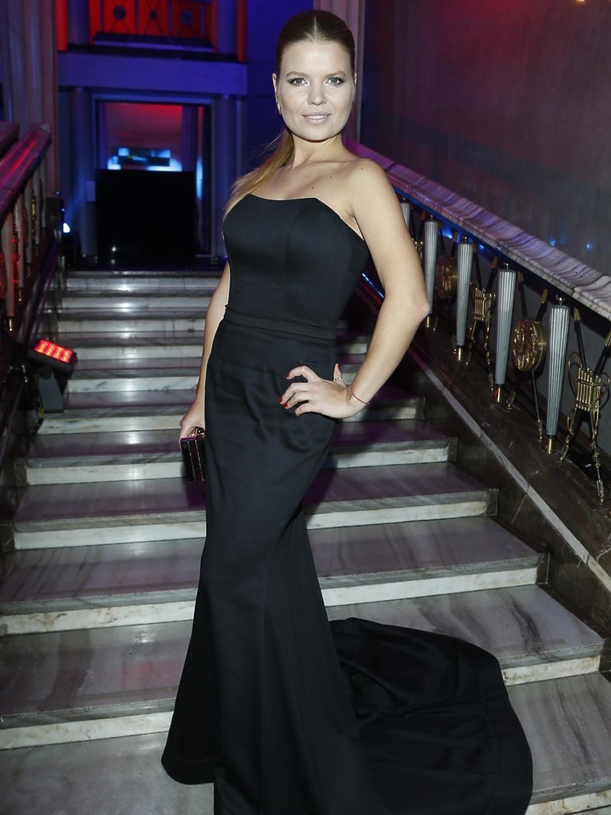 Marta Manowska na imprezie Flesz Fashio Night
