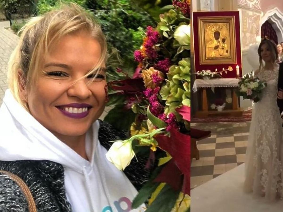 Marta Manowska pokazała zdjęcia ze ślubu Małgosi i Pawła