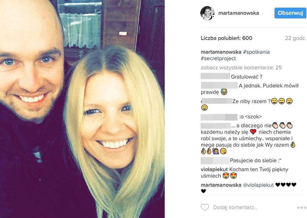 Marta Manowska pokazała zdjęcie z Łukaszem z Rolnik szuka żony