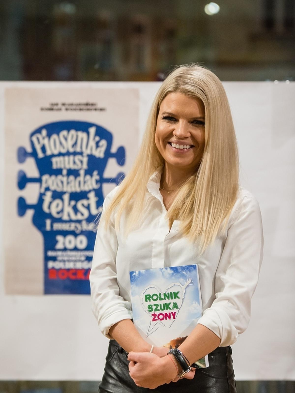 Marta Manowska promuje swoją książkę