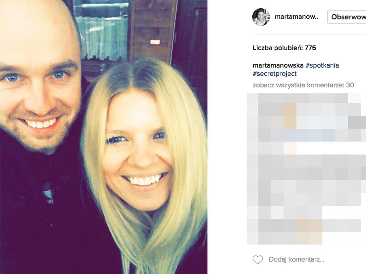Marta Mnowska, Łukasz z Rolnik szuka żony