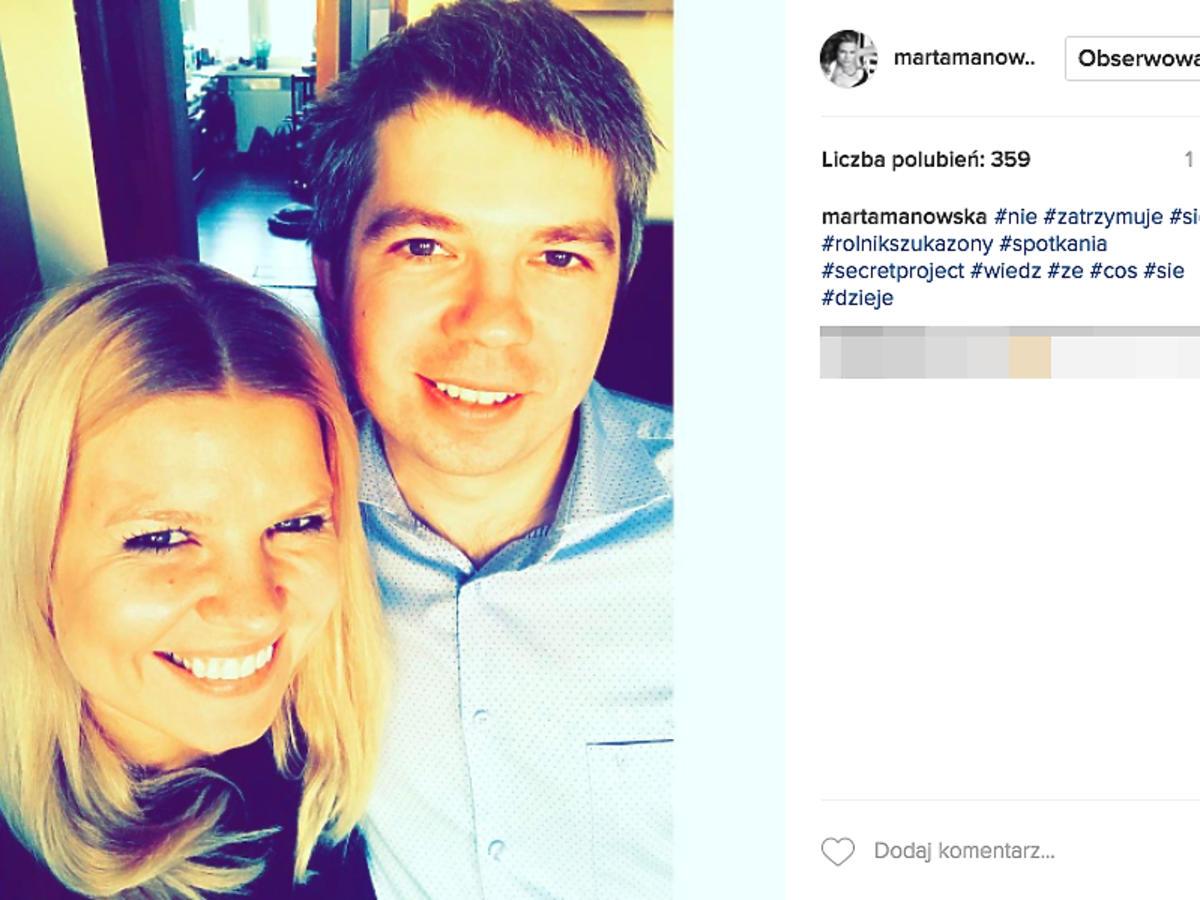 Marta Mnowska, Paweł z Rolnik szuka żony
