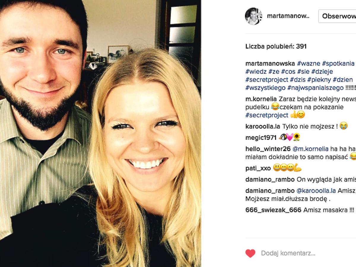 Marta Mnowska, Szymon z Rolnik szuka żony