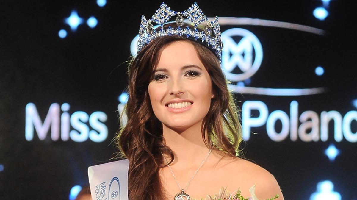 Marta Pałucka pierwszy raz w telewizji jako Miss World Poland 2015