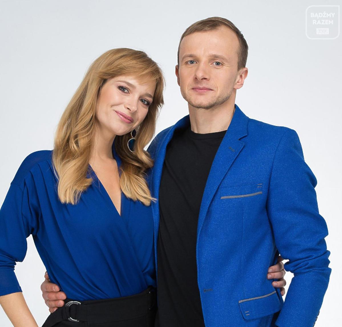 Marta Paszkin i Paweł Bodzianny z