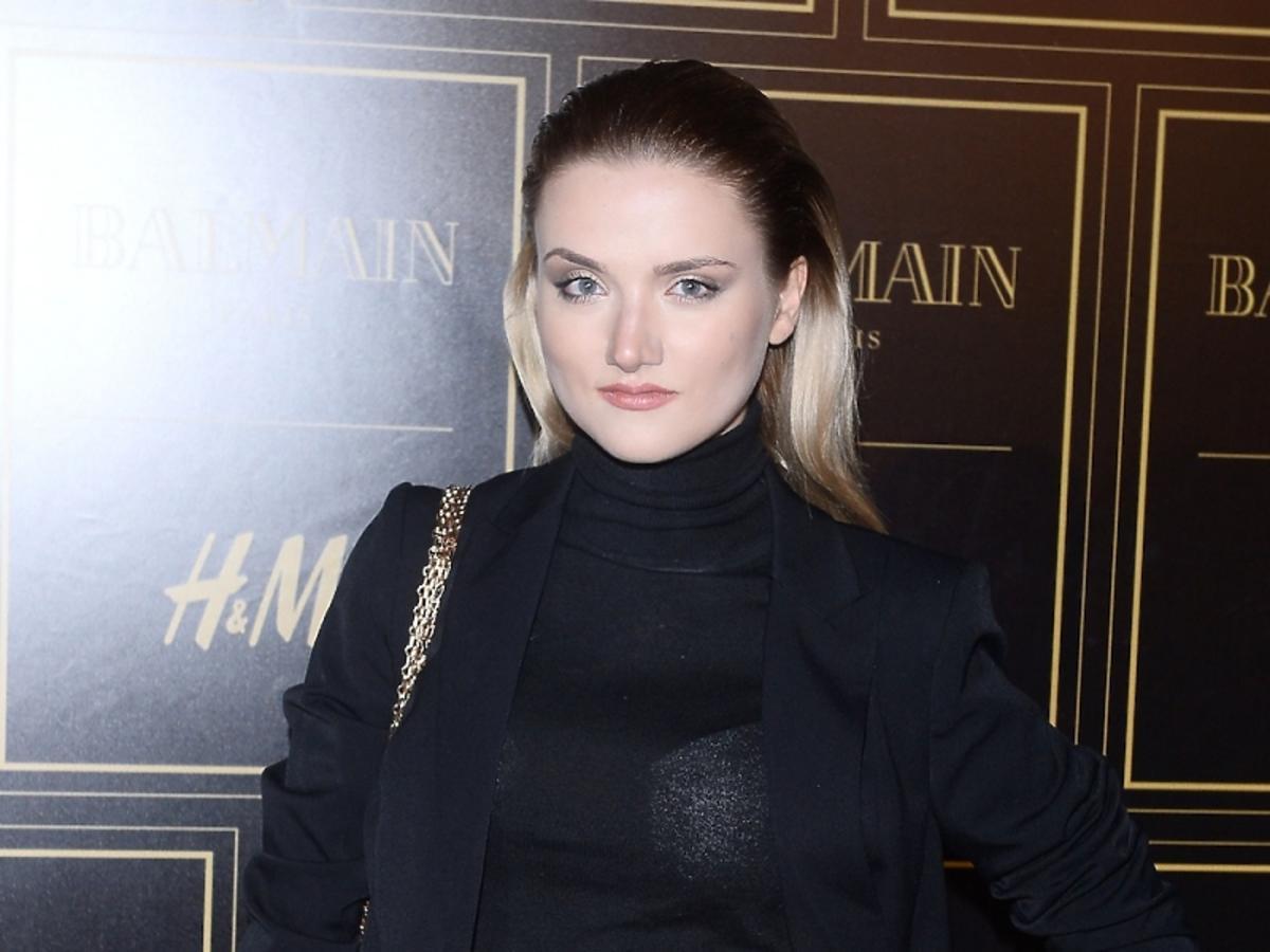 Marta Sędzicka w czarnym total lookuq