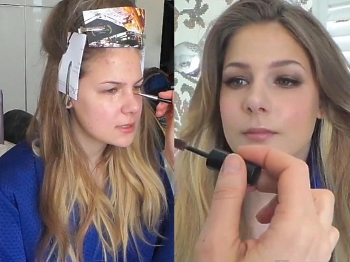 Marta Wierzbicka bez makijażu. Marta Wierzbicka za kulisami sesji dla Playboya