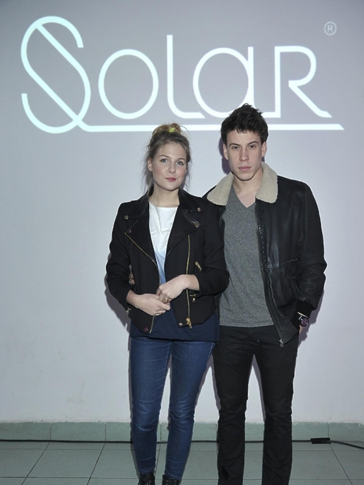 Marta Wierzbicka i Maciej Zawadzki na premierze albumu
