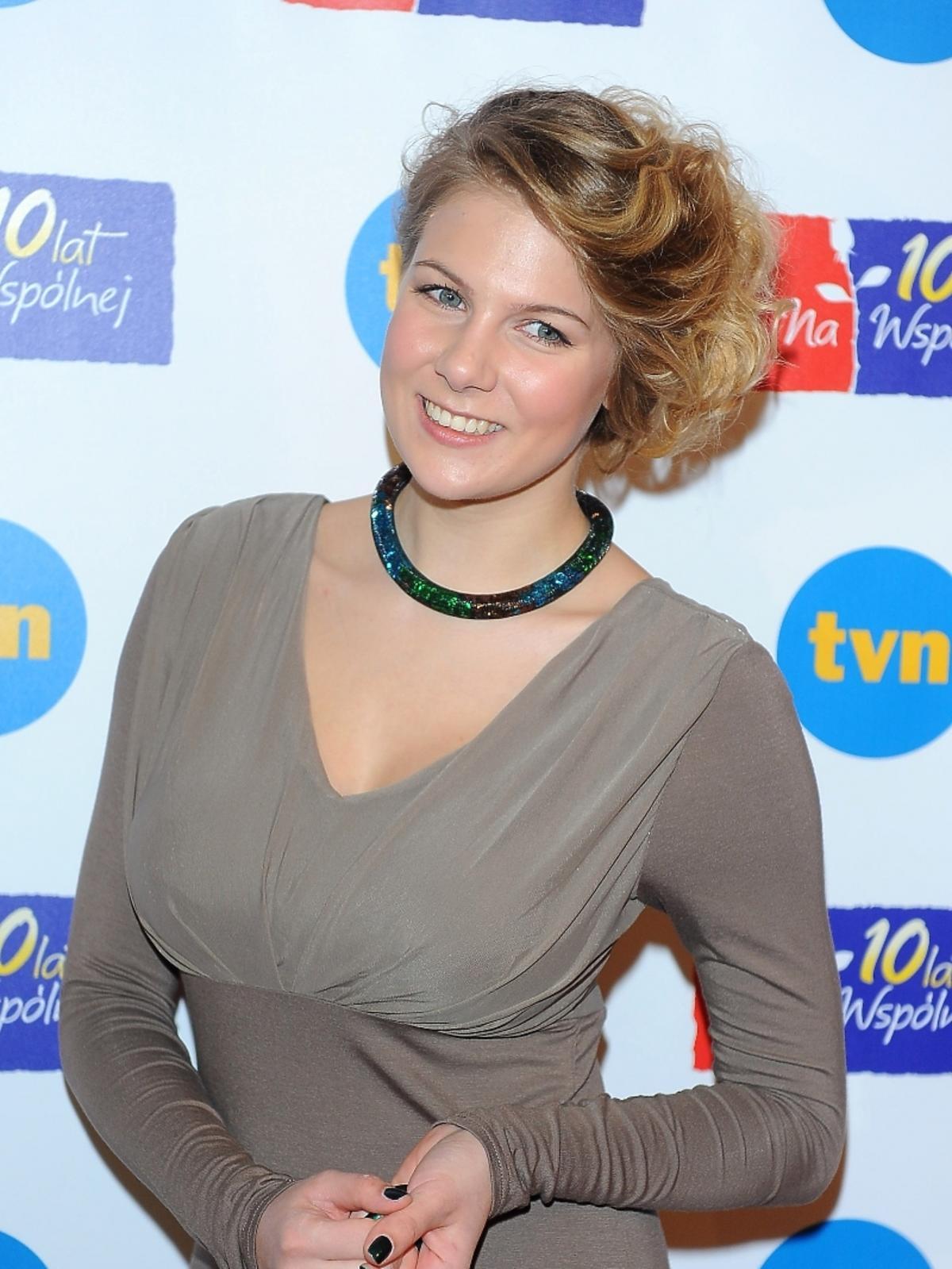 Marta Wierzbicka na 10-leciu serialu
