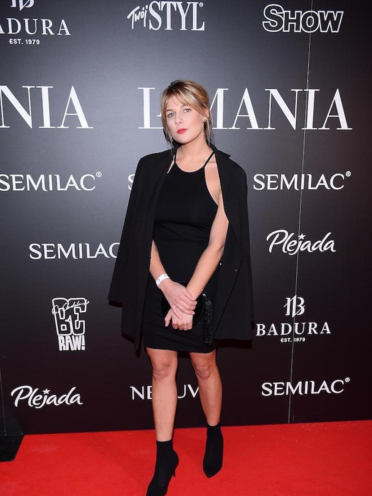 Marta Wierzbicka na imprezie La Manii