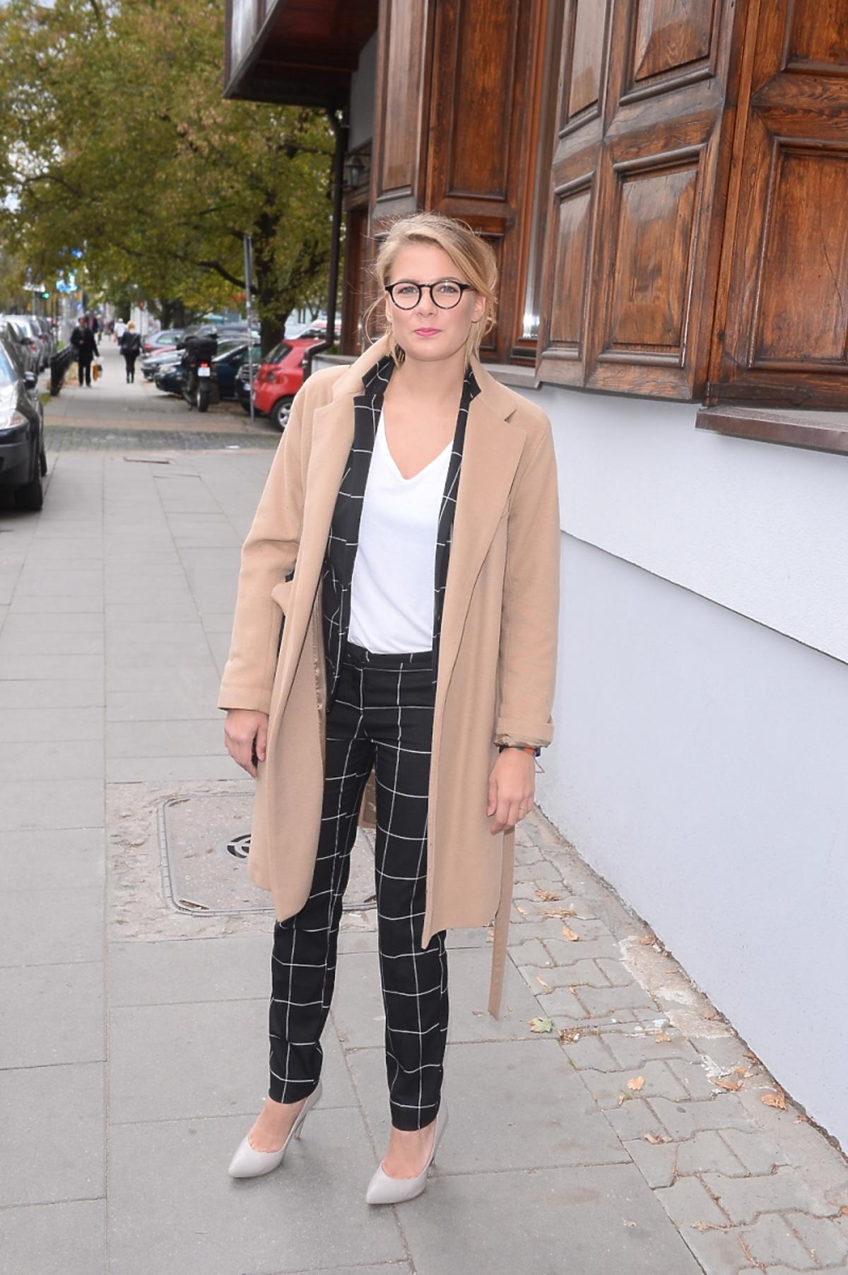 Marta Wierzbicka na konferencji serialu