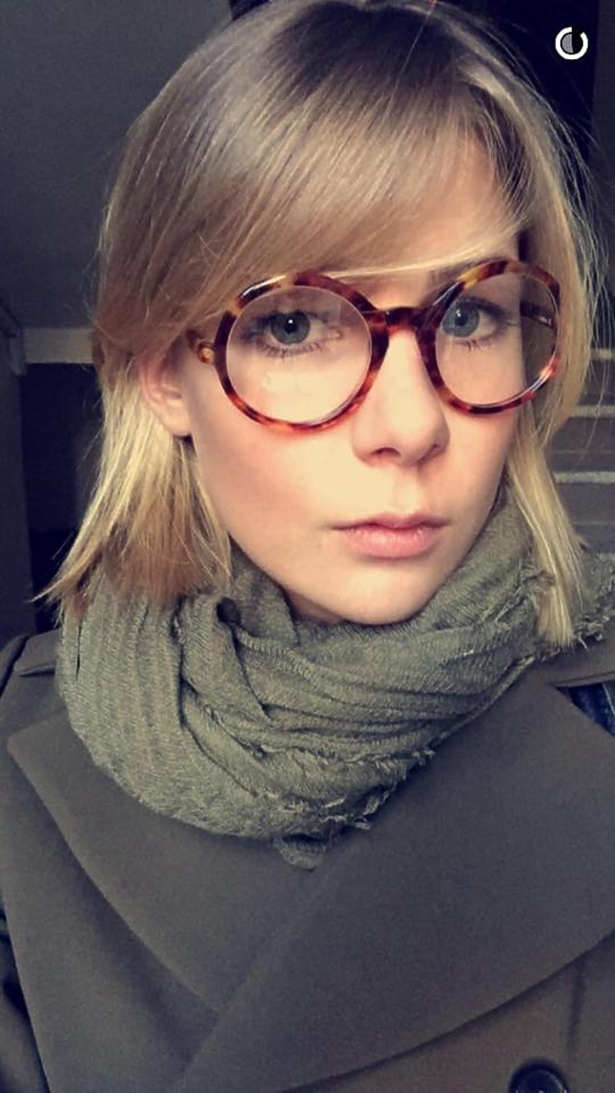 Marta Wierzbicka w okularach