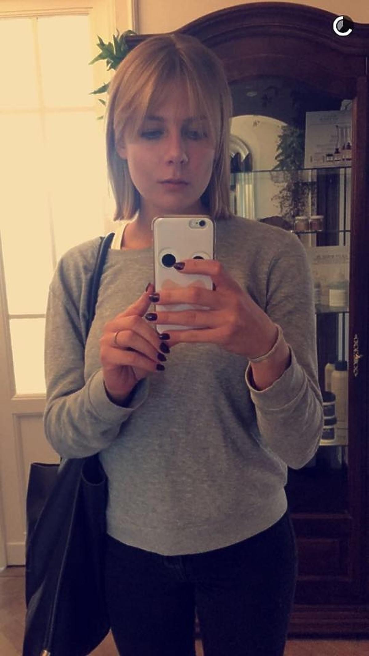 Marta Wierzbicka z grzywką