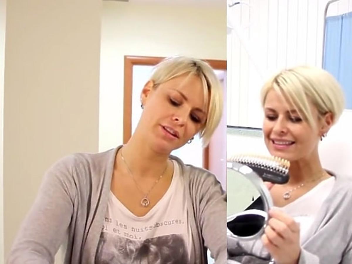 Marta Wiśniewska w reklamie. Marta Wiśniewska reklamuje wybielanie zębów. Mandaryna reklama. Mandaryna w reklamie.