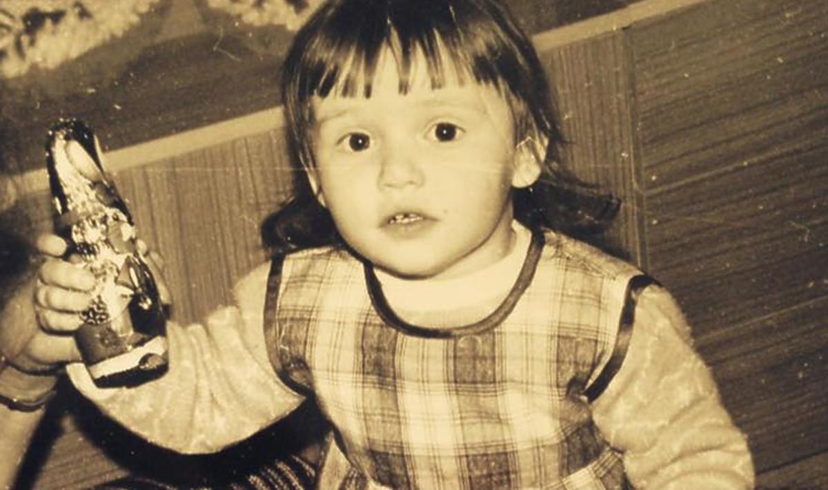 Marta Żmuda- Trzebiatowska pokazała zdjęcie z dzieciństwa