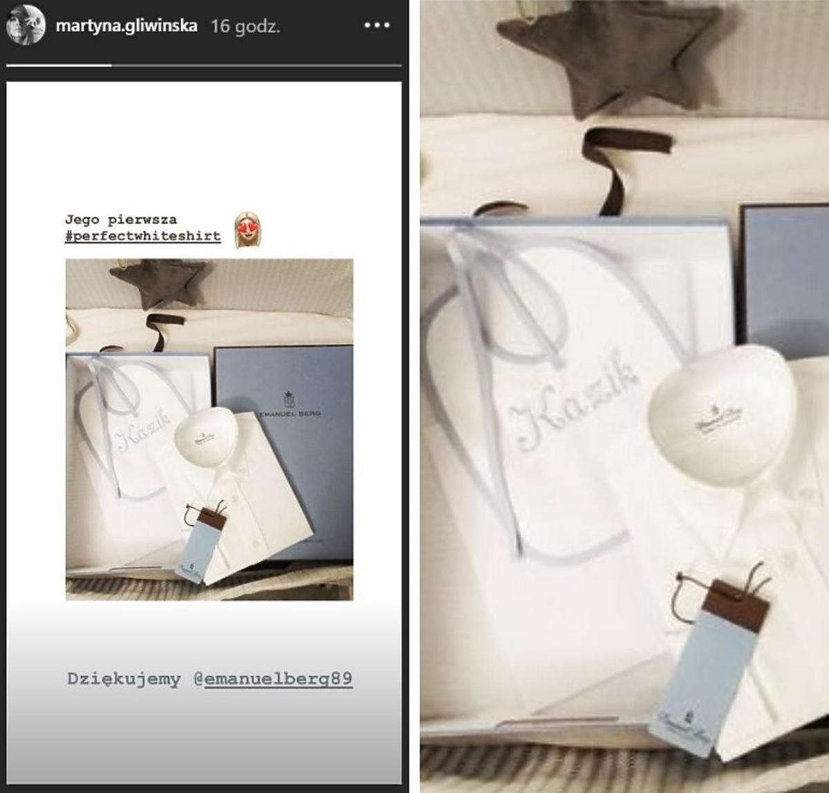 Martyna Gliwińska pokazała, jaki prezent dostał jej syn