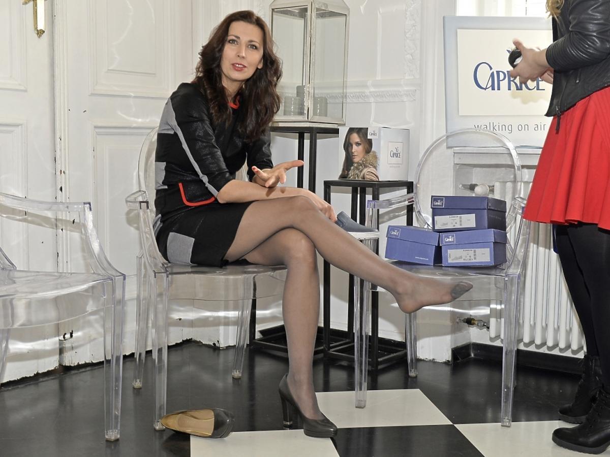 Martyna Kliszewska  na dniu otwartym marki Caprice