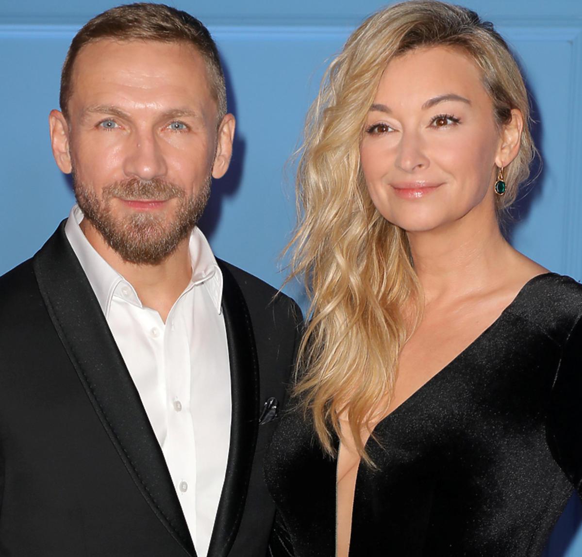 Martyna Wojciechowska i Przemek Kossakowski na balu TVN