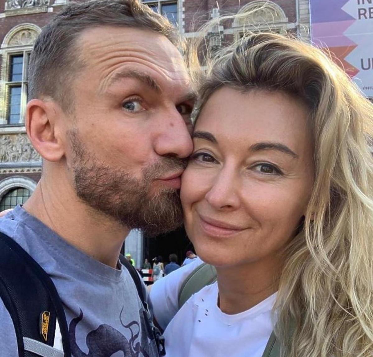 Martyna Wojciechowska i Przemek Kossakowski w Amsterdamie