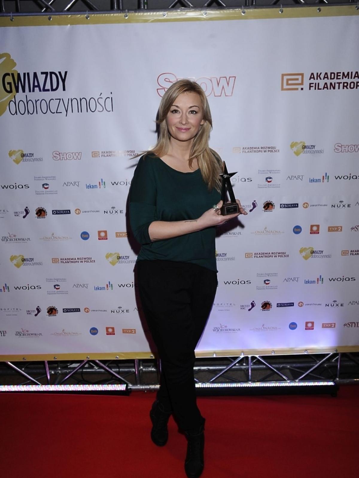 Martyna Wojciechowska na gali