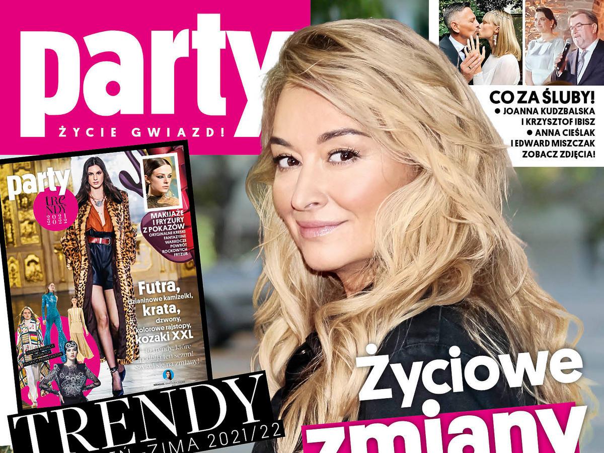 """Martyna Wojciechowska na okładce """"Party"""""""