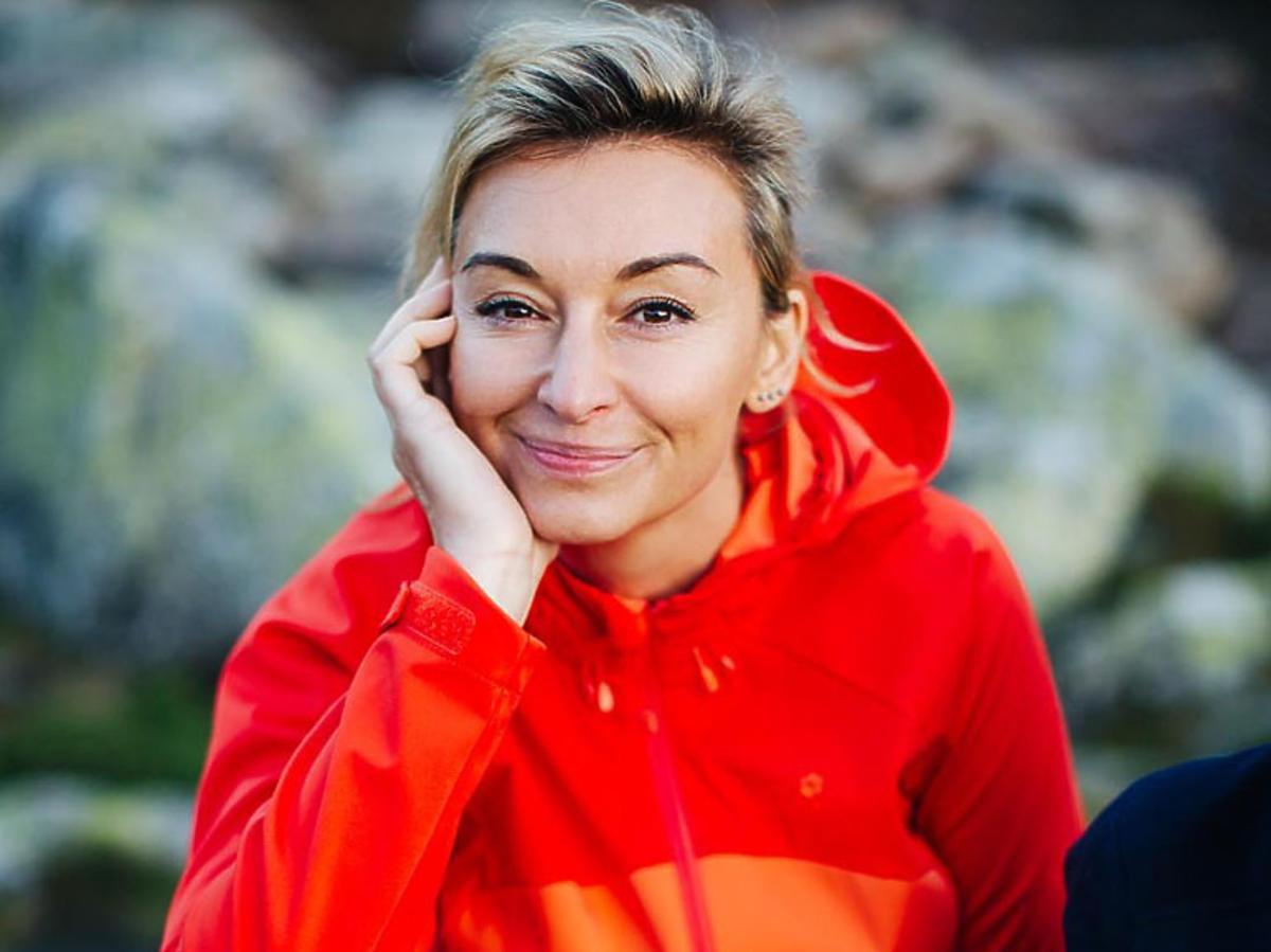 Martyna Wojciechowska na planie Kobieta na krańcu świata