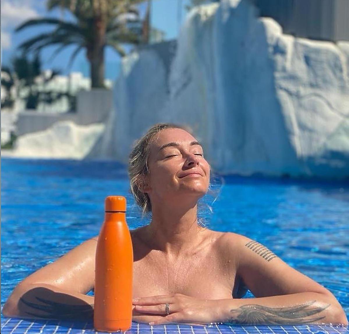 Martyna Wojciechowska na wakacjach