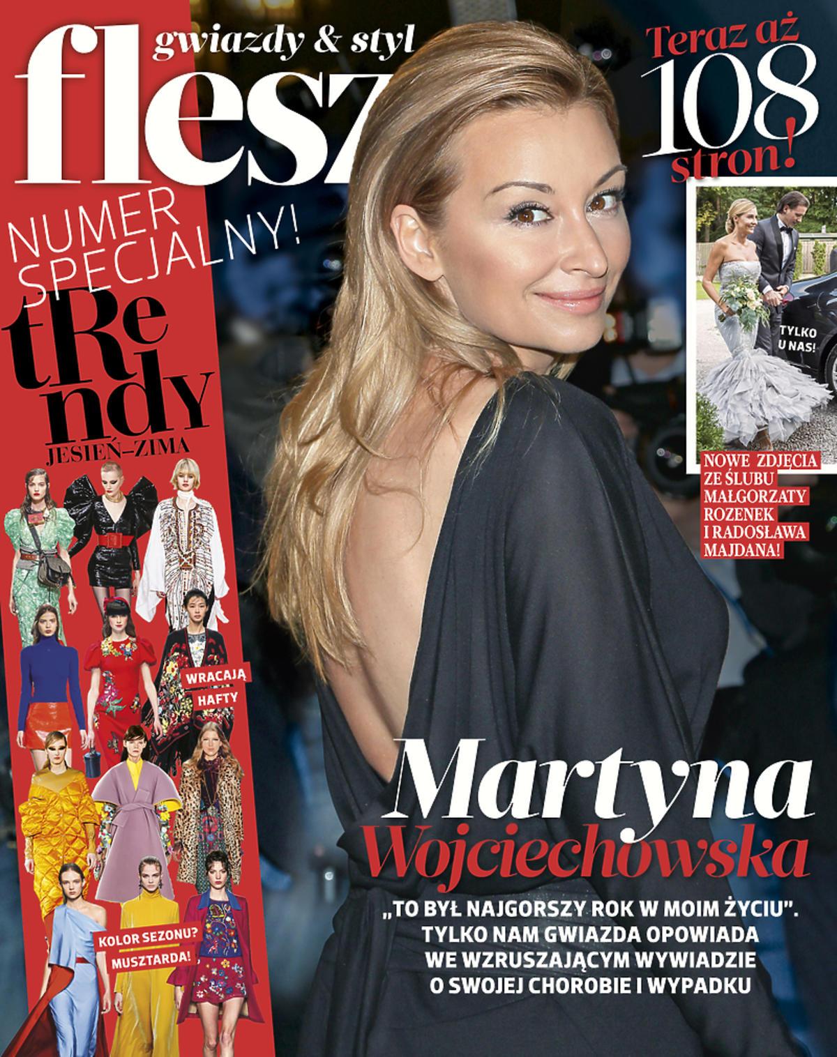 Martyna Wojciechowska opowiedziała we Fleszu o swojej chorobie