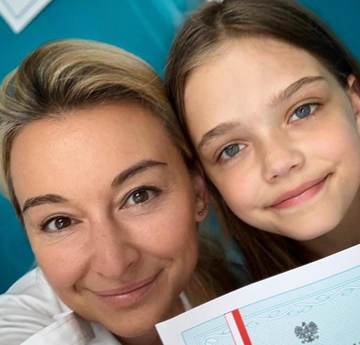 Martyna Wojciechowska pochwaliła się świadectwem córki