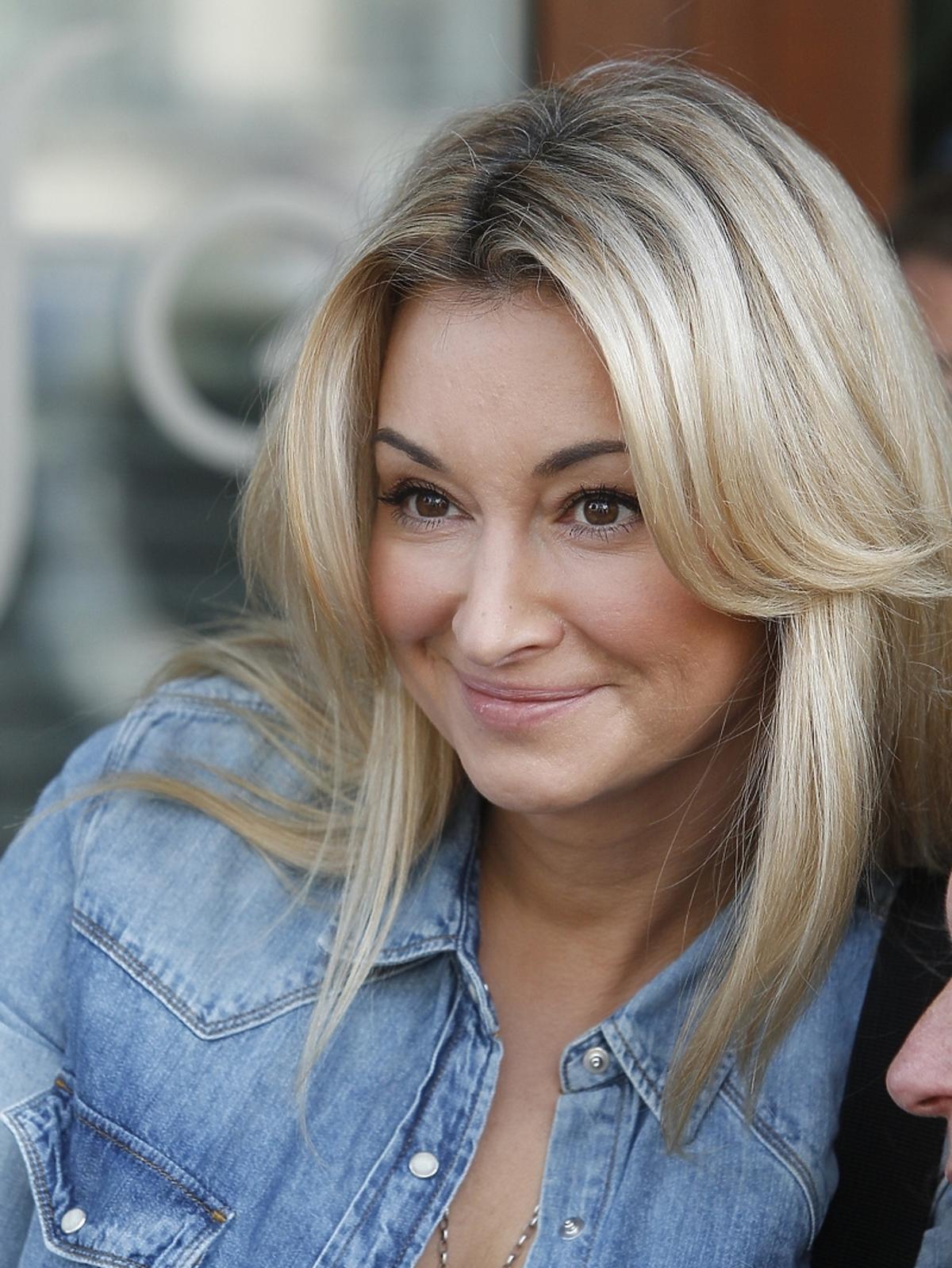 Martyna Wojciechowska przed studiem Dzień Dobry TVN