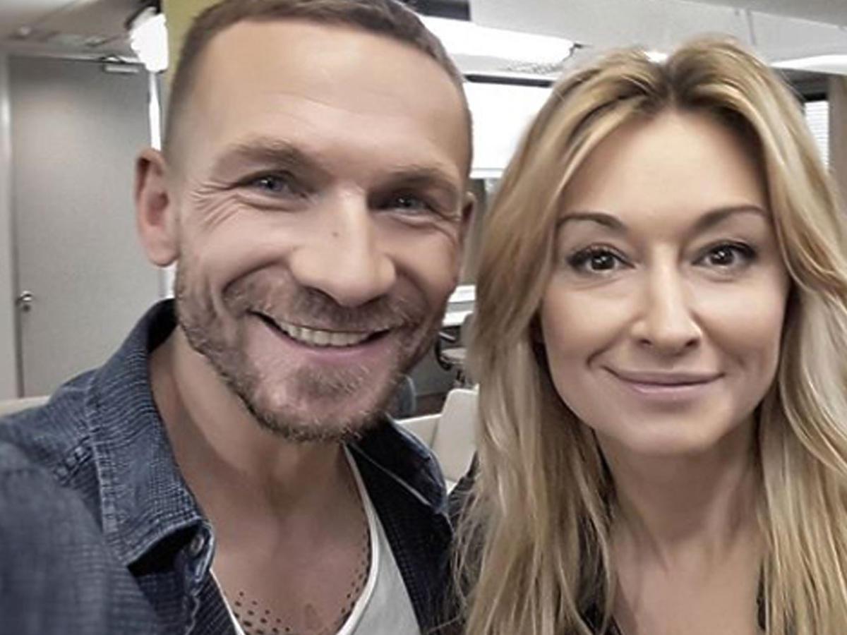 Martyna Wojciechowska, Przemysław Kossakowski wspólne selfie