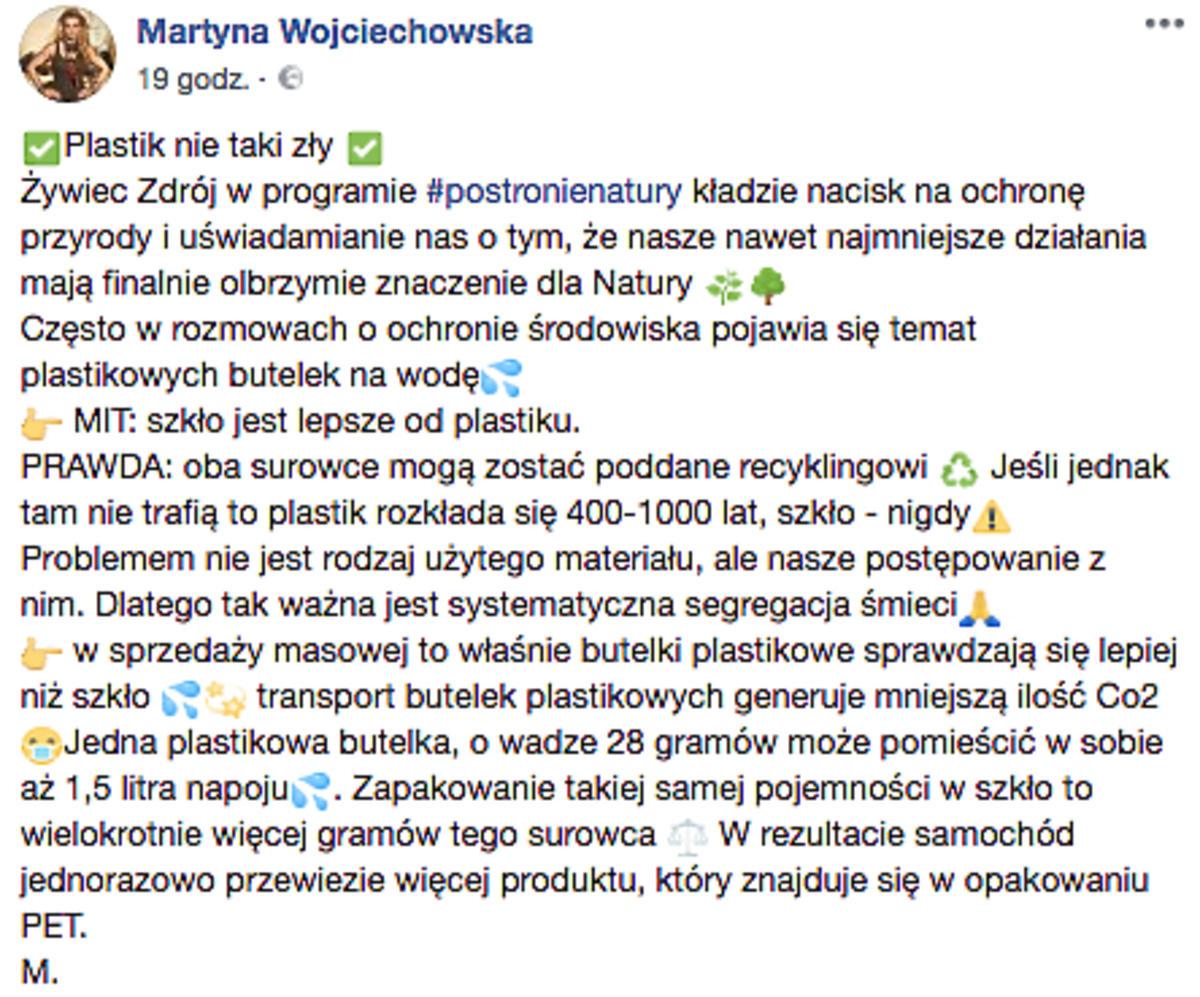 Martyna Wojciechowska shejtowana!